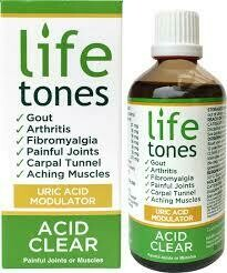 Lifetones uric acid modulator 100ml