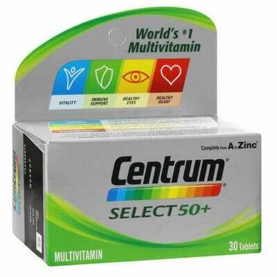 Centrum A-Z Select 50+ tablets 30's