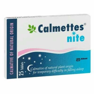 Calmettes Nite tablets 25's