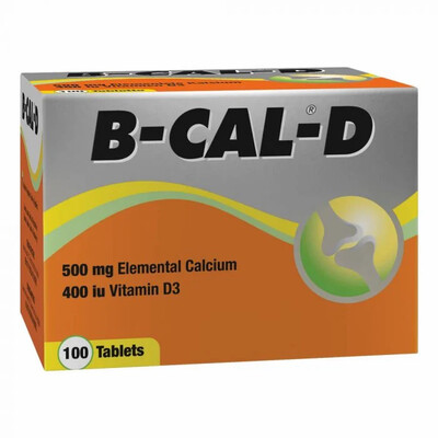 B-Cal-D tablets 100's