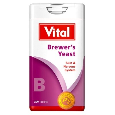 Vital Brewers Yeast tablets 180's