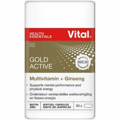 Vital Gold Active capsules 30's