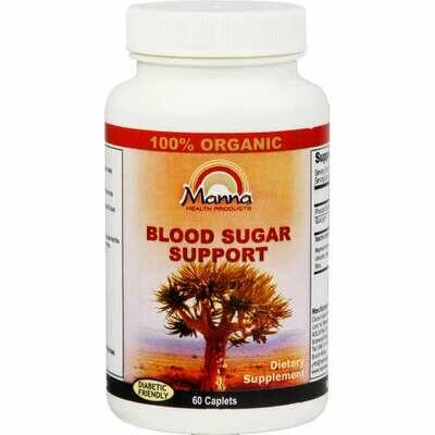 Manna Blood Sugar Support caplets 60's