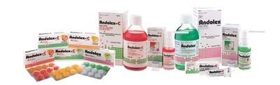 Andolex spray/mouthwash