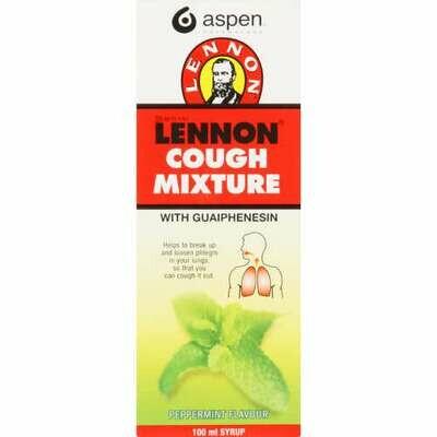 Lennon Cough mixture (Peppermint) 100ml