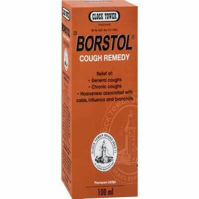 Borstol cough remedies