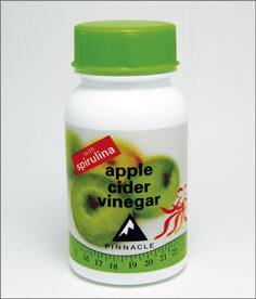 Pinnacle Apple Cider Vinegar with spirulina tablets 60's