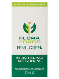 Floraforce Fenugreek vegecaps 60's