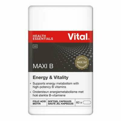 Vital Maxi B capsules 60's