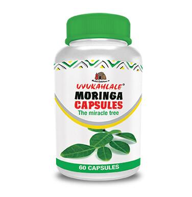 Uvukahlale Moringa capsules 60's