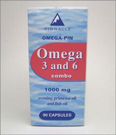 Omega-Pin Omega 3+6 capsules (30)