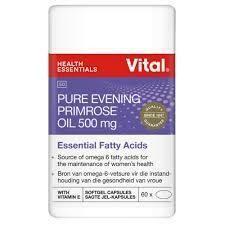 Vital Pure Evening Primrose oil capsules 500mg (60)