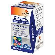 Nativa Diabetic Vitamin Complex tablets (30)
