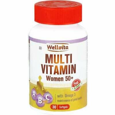 Wellvita Multivitamin Woman 50+ softgels (30's)