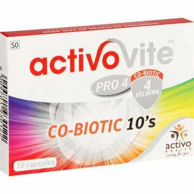 Activovite Co-Biotic capsules (10)