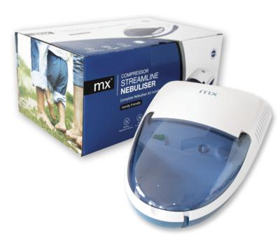 MX Streamline Nebuliser compressor