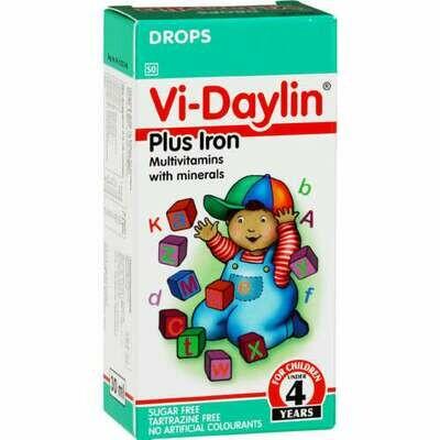Vi-Daylin Childrens Vitamin syrups