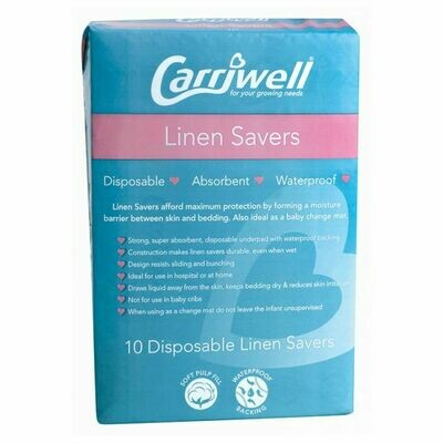 Carriwell Linen Savers 10's