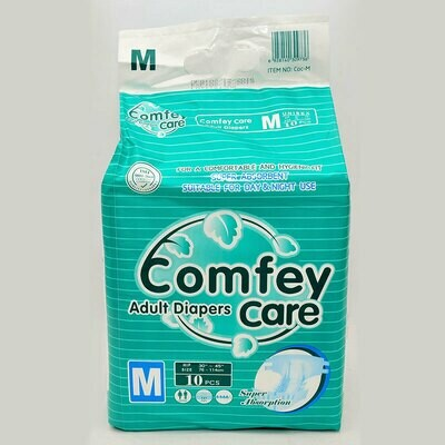 Comfey Care Adult Diapers 10's