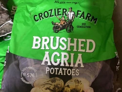 Agria Potatoes (Brushed) - 10kg