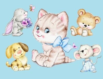 Draw amazing baby animals around the world