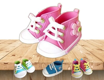 Baby Clay Shoes