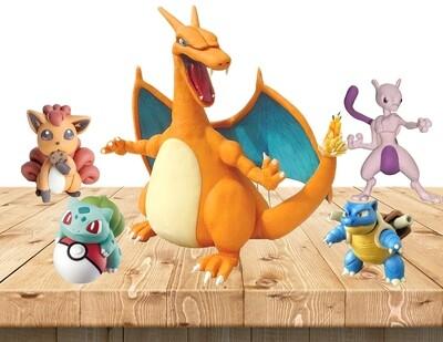 Pokemon Clay Art