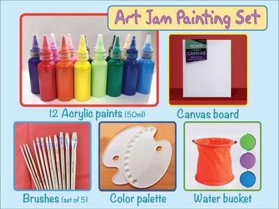 Art Jam painting set
