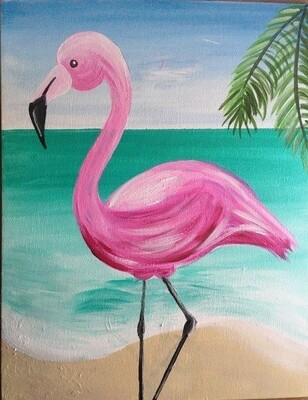 Spunky Flamingo