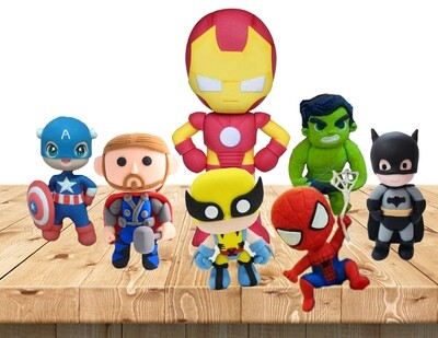 The Avengers Clay Art