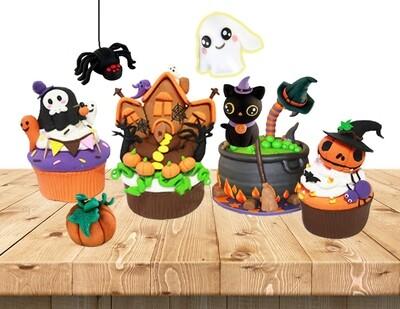Festive Halloween Theme Clay