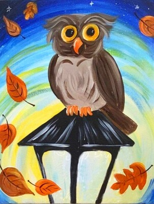 Owl be watching in the Fall
