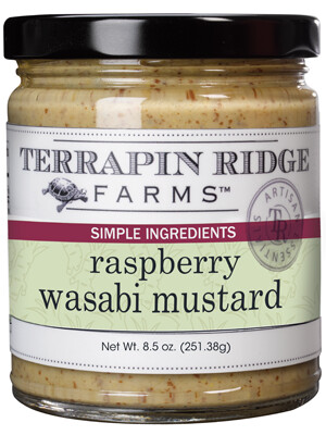 Raspberry Wasabi Musturd