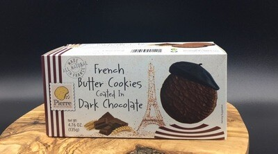 Dark Chocolate Butter Cookies