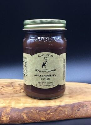 Apple Cranberry Butter