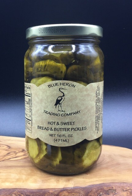 Hot & Sweet Bread and Butter Pickles