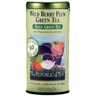 Wild Berry Plum Green Tea