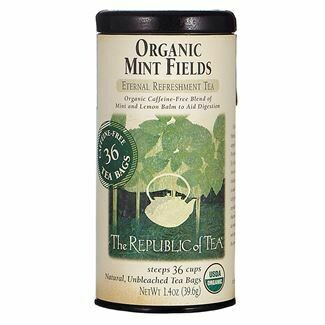 Organic Mint Fields