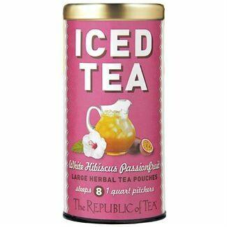 Iced Hibiscus Sangria Herbal Tea