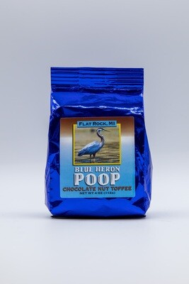 Blue Heron Poop
