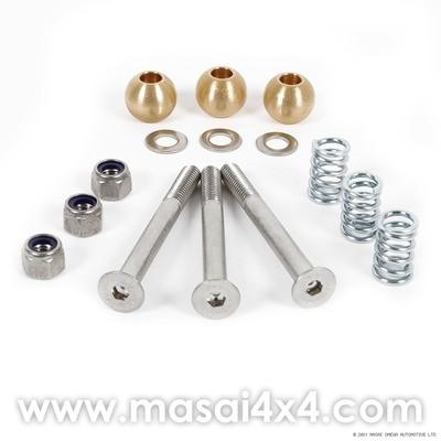 Rear Door Hinge Pin Kit for Defender & Series - Stainless Steel