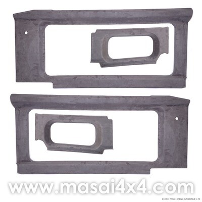 Internal Window Trims Kit for Land Rover Defender 90/110 - 200TDI, 300TDI & TD5 - Masai Covered