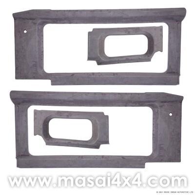 Internal Window Trims Kit for Land Rover Defender 90/110 - 200TDI, 300TDI & TD5 - Masai Covered