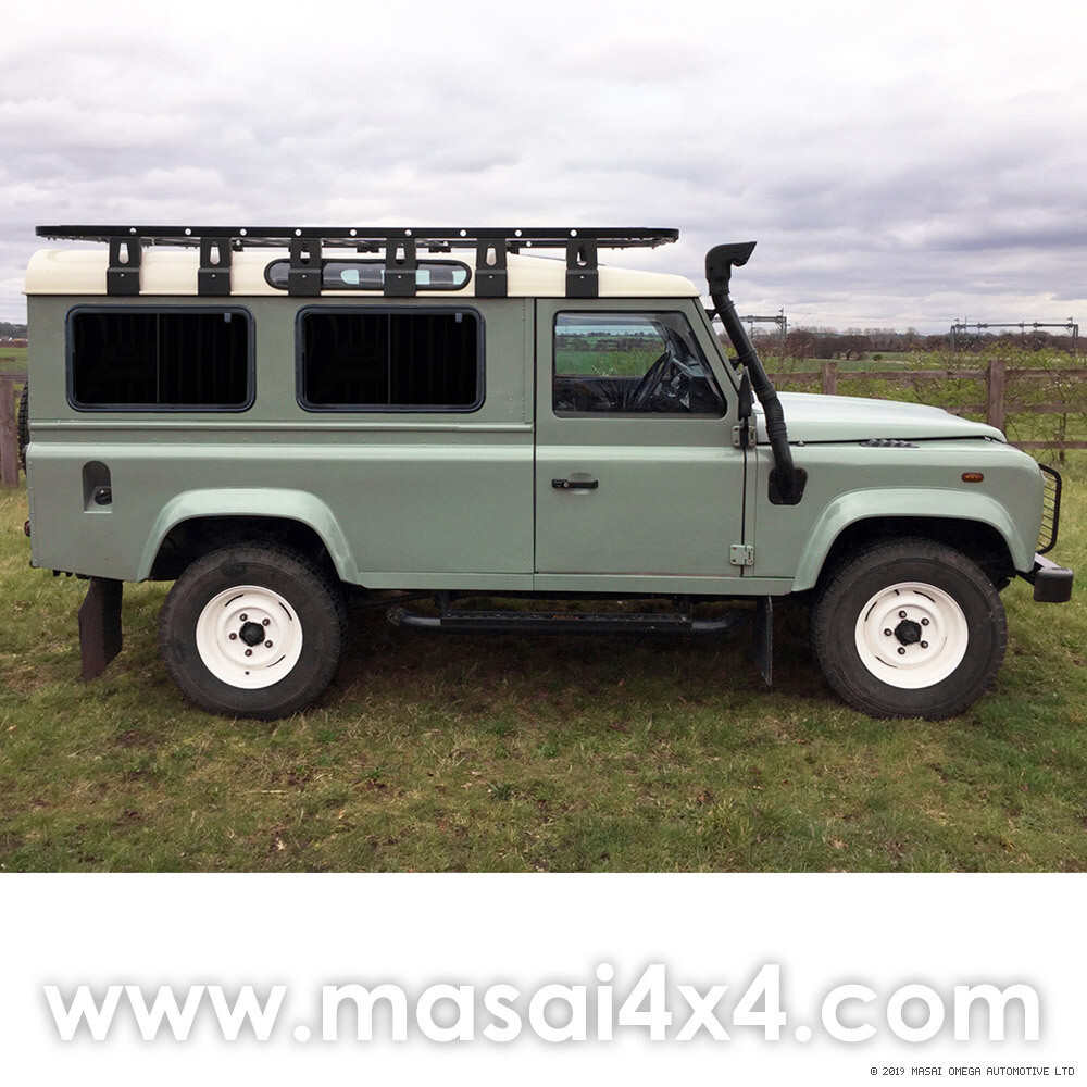 Sliding Side Windows in Dark Tint - Defender 110 2-Door 200TDI, 300TDI & TD5