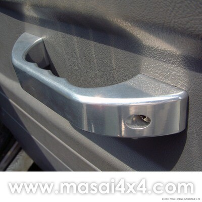 Billet Aluminium Door Closing Handles for Land Rover Defender (PAIR)
