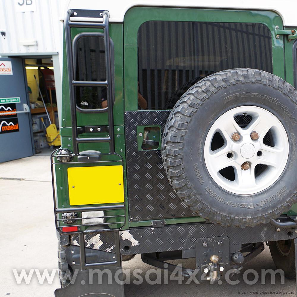 Standard Rear Roof Access Ladder for Land Rover Defender 90 / 110
