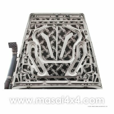 Dynamat Xtreme Sound Deadening Kit - Bonnet for 90/110 Defender Td5 Models