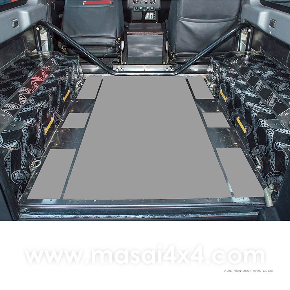 Dynamat Xtreme Sound Deadening Kit - Rear Arches for 90 County Models (Post 2007)