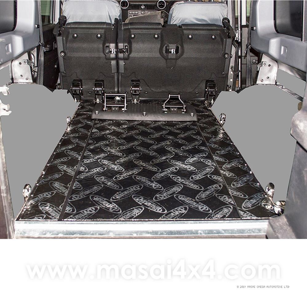 Dynamat Xtreme Sound Deadening Kit - Rear Floor for Defender 110 Puma Models (Post 2007)