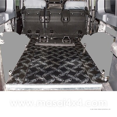 Dynamat Xtreme Sound Deadening Kit - Rear Floor for Defender 110 Puma Models (Post 2007)